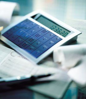 Management consultancy - London - C.B Associates - calculator