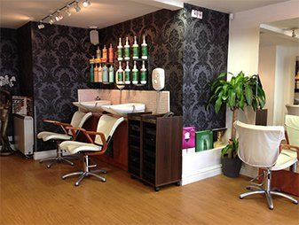 Arena hairdressing interiors