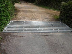 heavy duty cattle grid