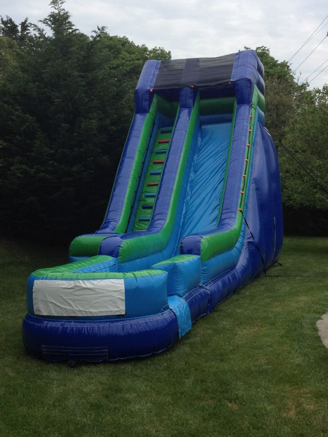 23' inflatables water slide