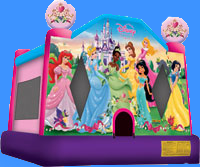 Disney Princess Bounce House Inflatable