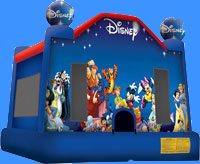 Disney Character Bounce House Inflatable