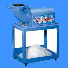 SnoCone Machine Rental