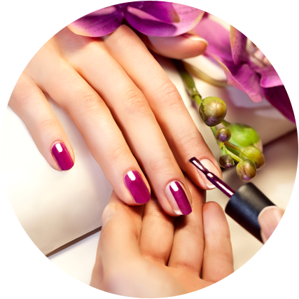 Electrolysis hair removal manicures and pedicures in for Exquisite mobile massage
