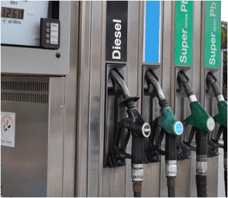 rifornimento benzina e diesel