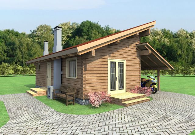 One and two bedroom log cabin designs at Log Cabin UK