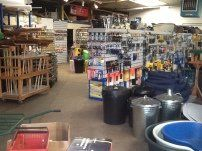 A variety of products sold in our one-stop shop