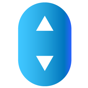 Icona frecce ascensore