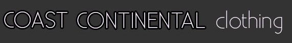Coast continental clothing logo