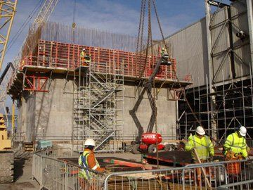 Concrete structures - Edinburgh, Scotland - C.A. McPherson Ltd - Reinforcement