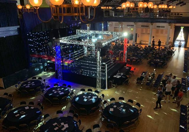 Boxing Event Lighting And Equipment By Aj S Premier Events