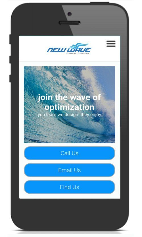 New Wave Digital Designs Mobile Phone
