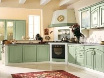 interno cucina moderna pieno giorno