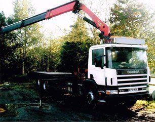 lorry hire services