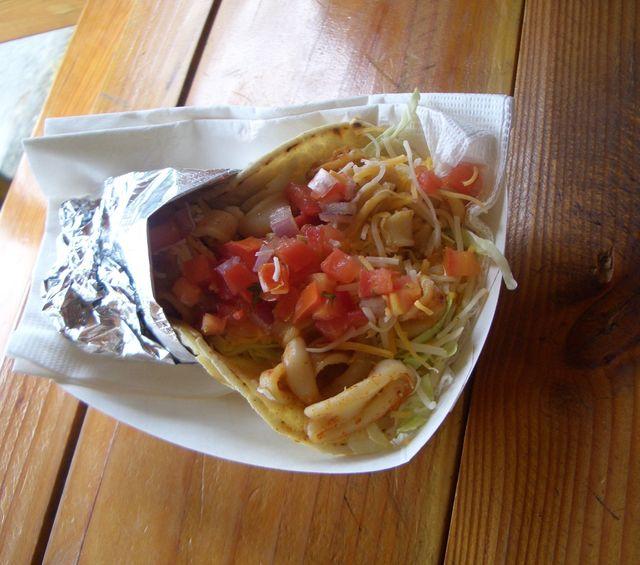 Calimari Taco Special