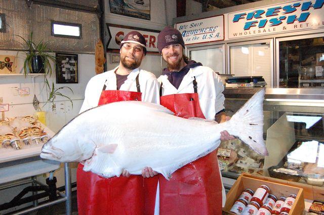 Jacob and Casey at Key City Fish