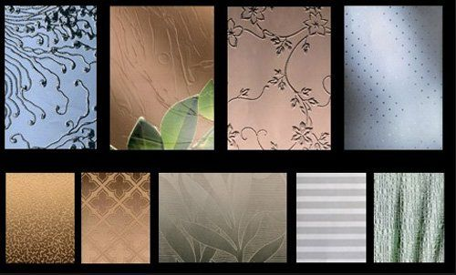 diversi tipi di vetri