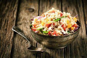 Piatto a base di quinoa a Firenze