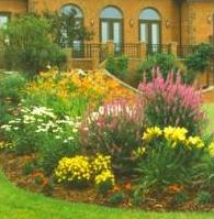 Beautiful residential garden designed by Tschanz Landscape Service