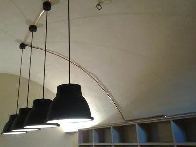 delle lampade a sospensione