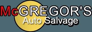 McGregor's Auto Salvage logo