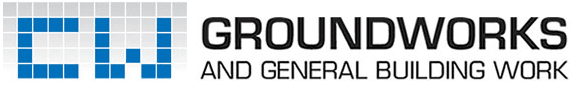 CW Groundworks and General Buildin Work logo
