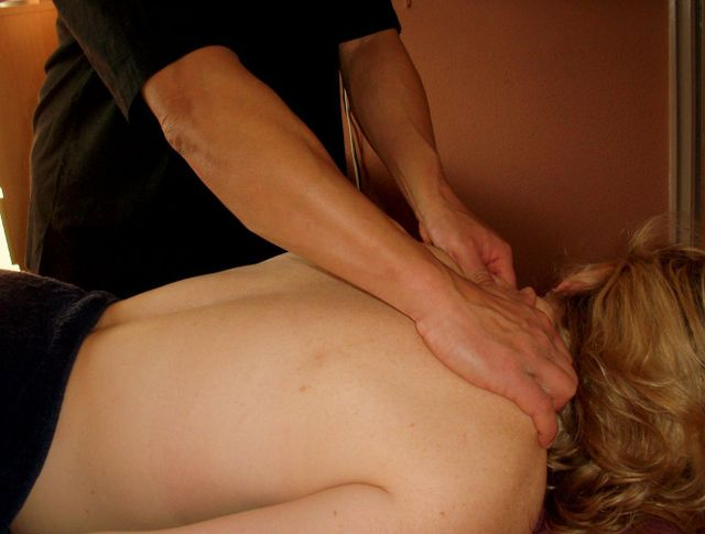 Neck massage in Leeds