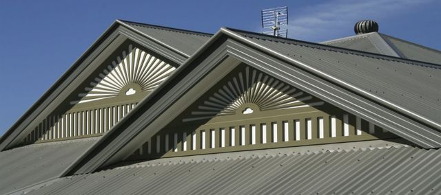 Colorbond steel roof