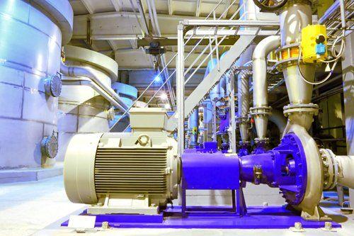 l'immagine ritrae un impianto di sollevamento idrico