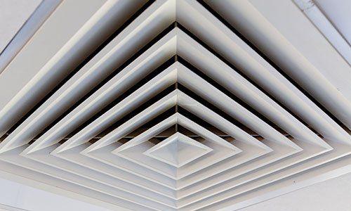 griglia di ventilazione quadrata