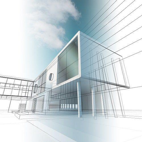 Modello 3D di un edificio