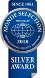 2018 Monde Selection Silver Award