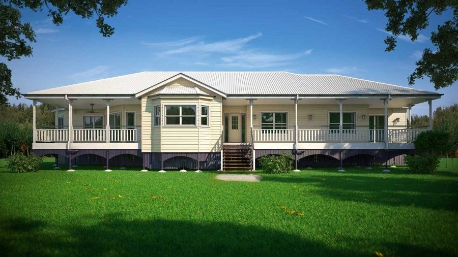A Modern Queenslander With Space Character And Charm