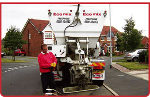 For a load of concrete in Wigan call Eco-Mix Ltd