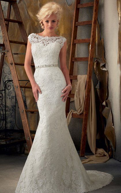 Mori Lee bridal dress