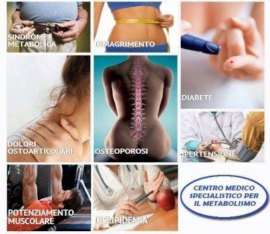controllo del metabolismo, specialista in endocrinologia, malattie del metabolismo