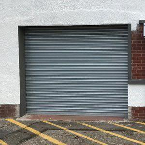 closed garage shutter