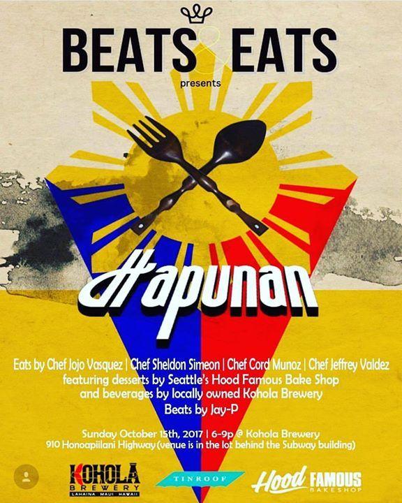 Beats and Eats: Hapunan Lahaina Maui Kohola Brewery