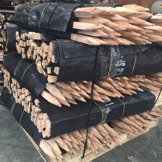 Silt Fence wood stakes 50 gram, 70 gram, 100 gram