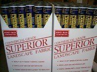 3.5oz Superior Landscape Fabric Professional Display Packs