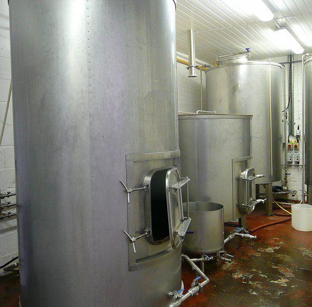 Beer fermentation vessel
