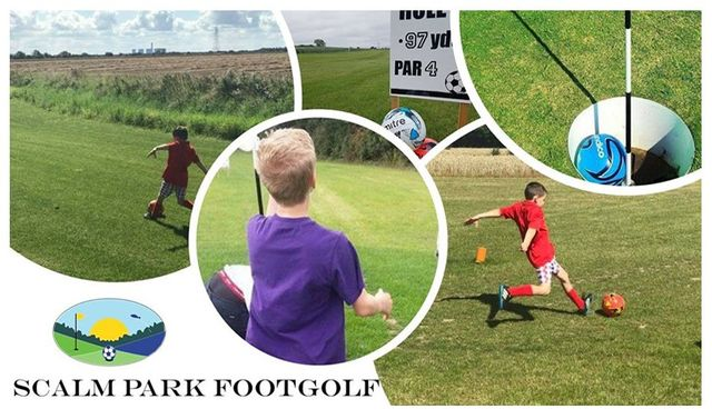 Foot Golf at Scalm Park Leisure in Selby, North Yorkshire