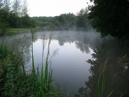 Fishing lake image