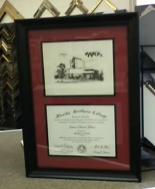 Military Award Framing Pensacola, FL