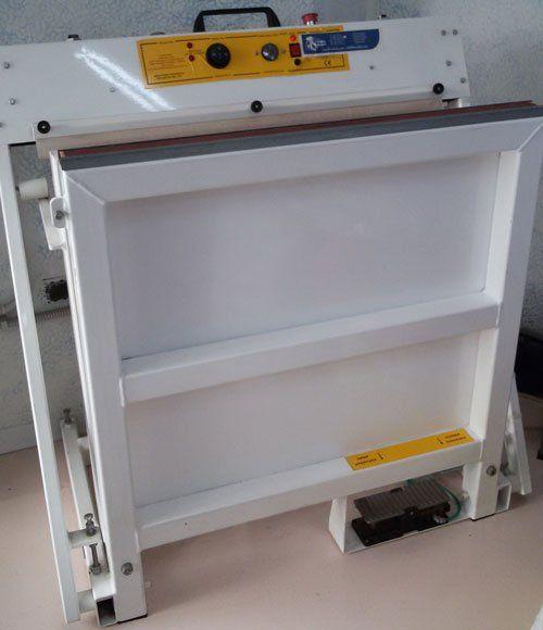 un macchinario in ferro di color bianco