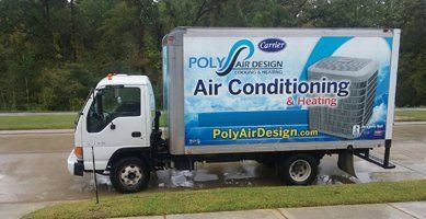 AC Service Truck in Humble, TX
