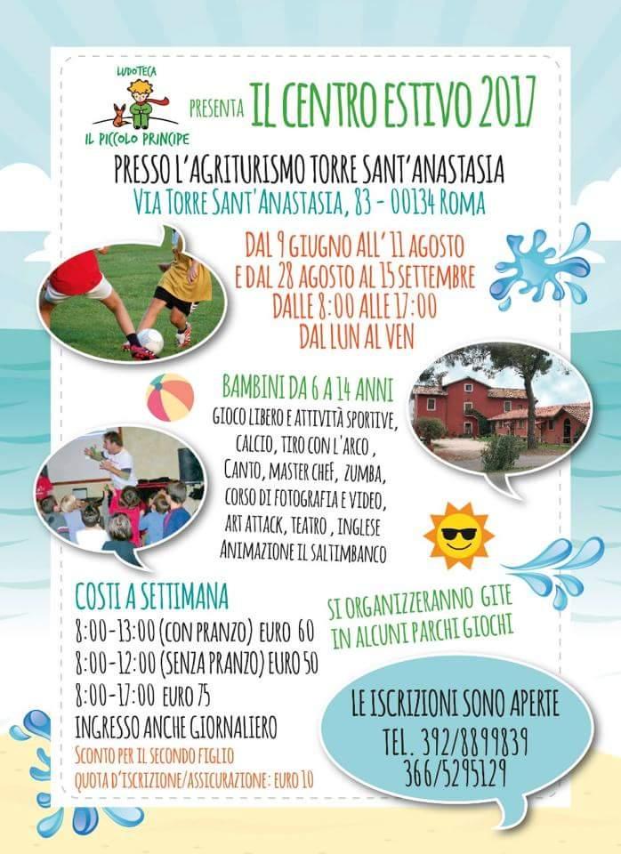 Centri estivi per bambini 2017