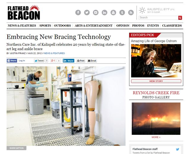 """Embracing new bracing technology"""