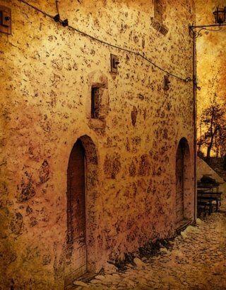 vista del castello di Calascio