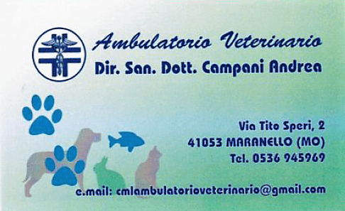 AMBULATORIO VETERINARIO CAMPANI MUZZI LEI logo